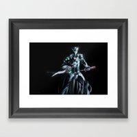 OV Genji Framed Art Print
