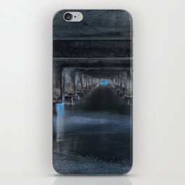 Under the Pier at Hanalei iPhone Skin