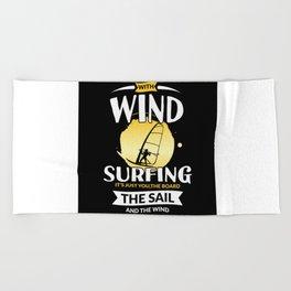 Windsurfing Surfing Surfing Beach Towel