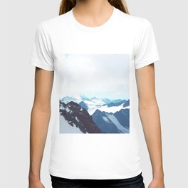 No limits - mountain print T-shirt