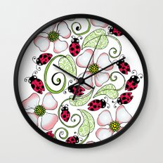 Don't Bug Me Wall Clock