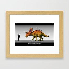 Albertaceratops Framed Art Print
