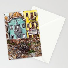 Buarcos Buildings, Portugal Stationery Cards