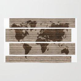 Scatter world map Rug