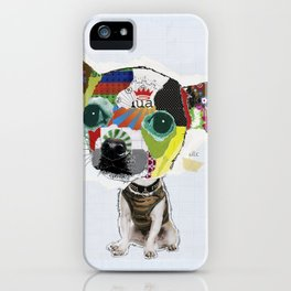 Chihuahua Colorful Dog POP Art Collage iPhone Case