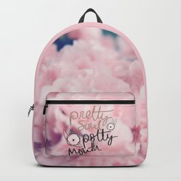 Pretty Soul, Potty Mouth Backpack
