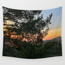 Sunset in Idaho Wall Tapestry