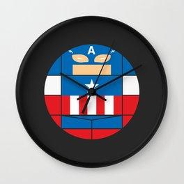 Captain America | Projekt Sirkols Wall Clock