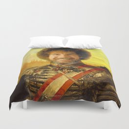 Bob Ross 19th century Classical Painting Photoshop Duvet Cover