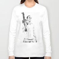 grand theft auto Long Sleeve T-shirts featuring Grand Theft Auto 5 by Chris Samba
