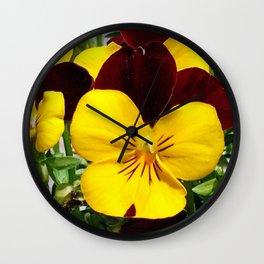 Pansey Wall Clock