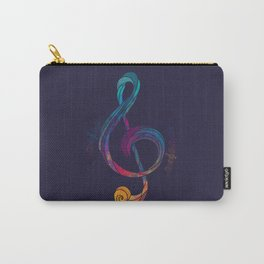 Treble Color Carry-All Pouch