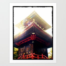 Beauty in Unexpected Places Art Print
