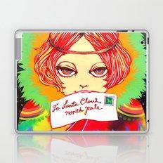 Don't forget to write to Santa Claus Laptop & iPad Skin