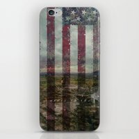 patriots iPhone & iPod Skins featuring Guns of the patriots by  Maʁϟ