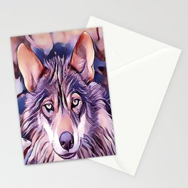 The Iberian Wolf Stationery Cards