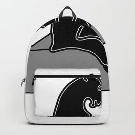 black Panther . Artwork Backpack