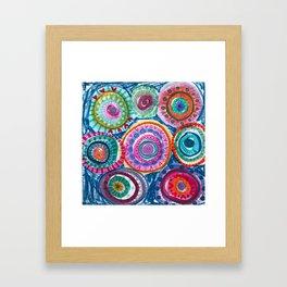 Bright Mandalas Framed Art Print