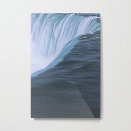Niagara Falls Ontario Vertical Closeup Metal Print