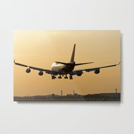 Thai Airways Boeing 747-4D7/ER Metal Print