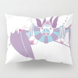 Robot Bat Pillow Sham
