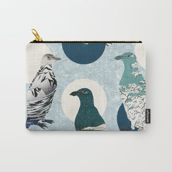 Penguin Polka Carry-All Pouch