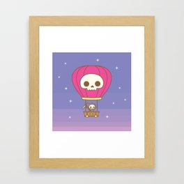 Hot Air Balloon Rides with the Reaper Framed Art Print