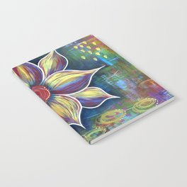 Burst of Color Notebook