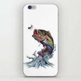 Bass Fish iPhone Skin