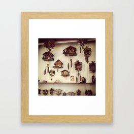 Coo-coo Framed Art Print