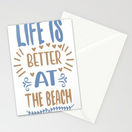 Life is better at - Adventure Design Stationery Cards
