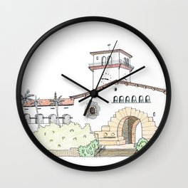 Santa Barbara County Courthouse Wall Clock
