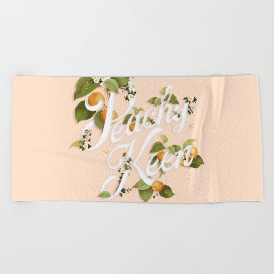 Peachy Keen : Peach Beach Towel