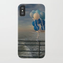 Santa Monica pier 4 iPhone Case