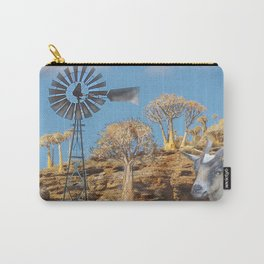 Wind Punk Golden Quivers Carry-All Pouch