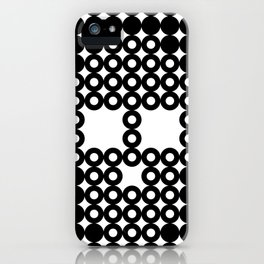 Retro Skull #3 iPhone Case