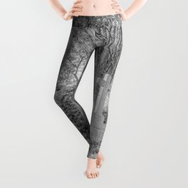 Highgate Cemetery London Leggings