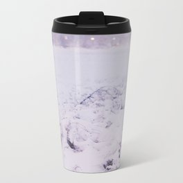 Snow in the evening Metal Travel Mug