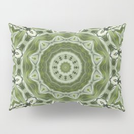 Green mosiac Pillow Sham