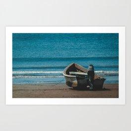 Sigue tu horizonte Art Print