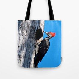 Bayou Bird (Pileated Woodpecker) Tote Bag