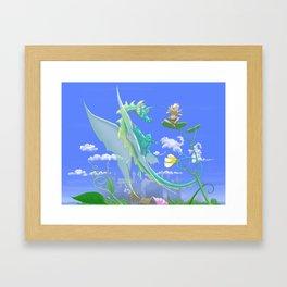 Be Carried Away Framed Art Print