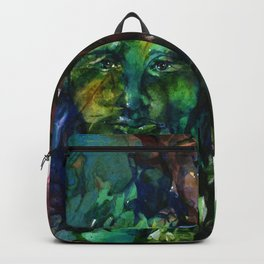 Green Man by Kathy Morton Stanion Backpack