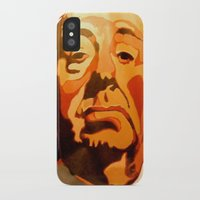 hitchcock iPhone & iPod Cases featuring Hitchcock by Jonny Moochie