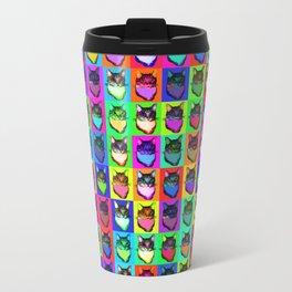 Cat Copy #42 Metal Travel Mug