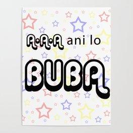 A A A Ani lo Buba Poster