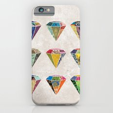 Diamonds Collage iPhone 6s Slim Case