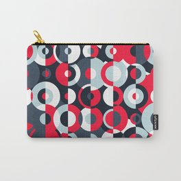 """The """"Simultaneous Discs"""" pattern Carry-All Pouch"""