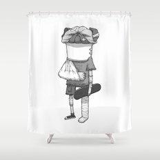 That pug. Shower Curtain