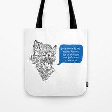 A Beast's Beseechment Tote Bag